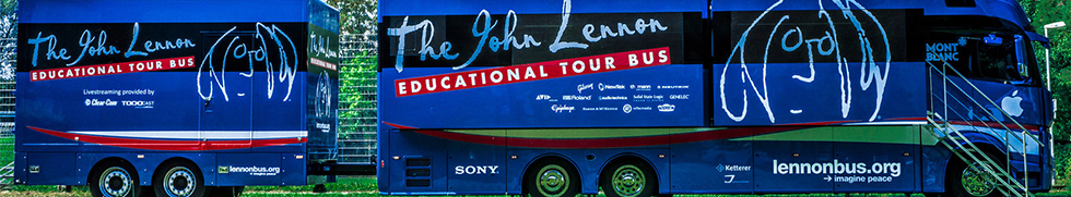 The John Lennon Educational Tour Bus - Kruger Media / PR Agentur Berlin