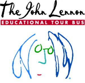 Logo Kruger Media Pr Agentur Kunde: The John Lennon Educational Tour Bus