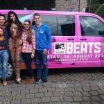 Am letzten Samstag moderierten die WG-Bewohner, für die TV-Sender MTV und VIVA das MTV Mobile Beats Festival in Köln am Tanzbrunnen
