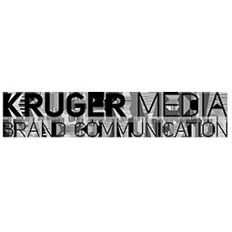 Logo Kruger Media Pr Agentur Kunde: Kruger Media