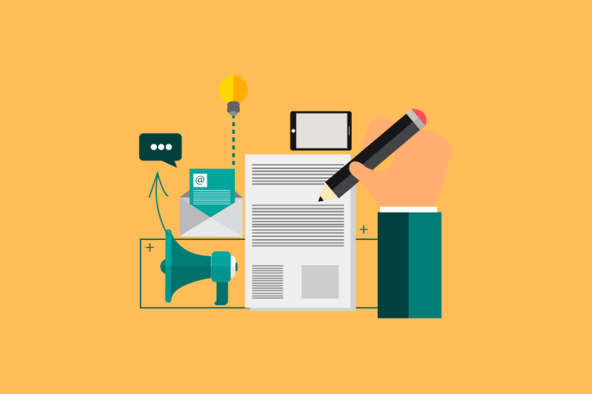 Bild Content-Marketing und Corona