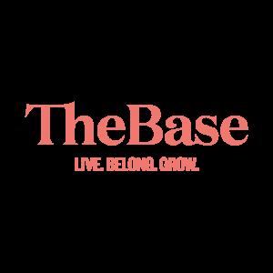 Logo Kruger Media Pr Agentur Kunde: The Base | Live. Belong. Grow.