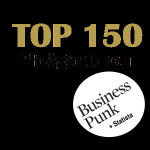 Logo Deutschlands Top 150 PR-Agenturen